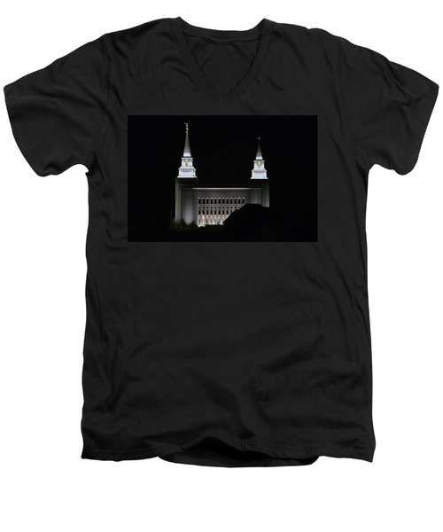 Temple Men's V-Neck T-Shirt