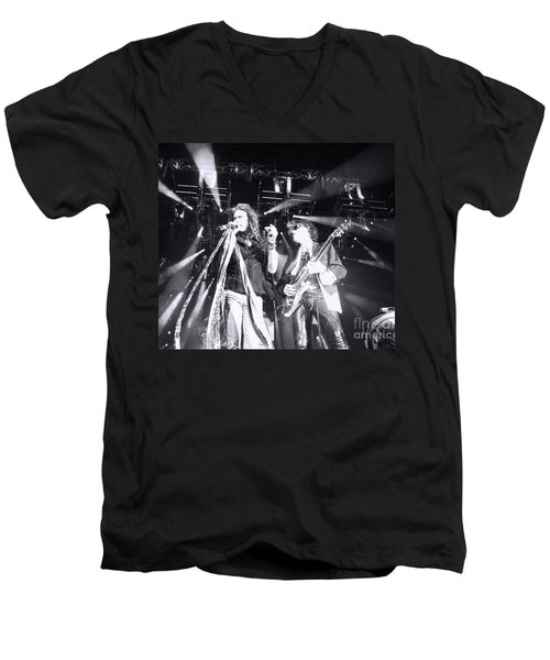 Men's V-Neck T-Shirt featuring the photograph The Boyz by Traci Cottingham