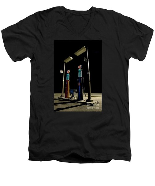 Men's V-Neck T-Shirt featuring the photograph The Forgotten Faithful by Keith Kapple