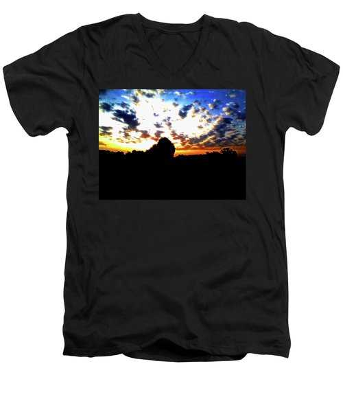 The Gift Of A New Day Men's V-Neck T-Shirt
