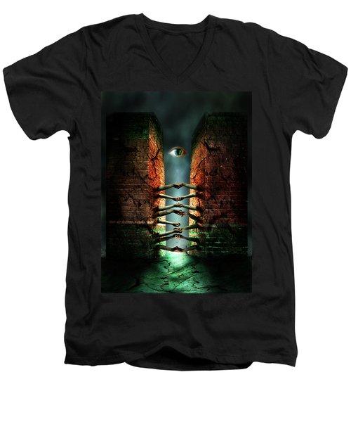 The Last Gate Men's V-Neck T-Shirt