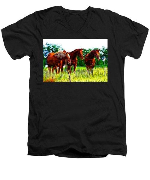 The Pasture Men's V-Neck T-Shirt