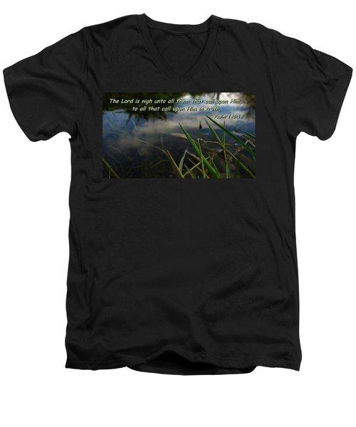 The Truth Factor Men's V-Neck T-Shirt