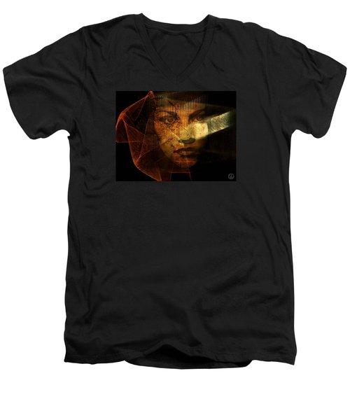 The Veil Men's V-Neck T-Shirt by Gun Legler