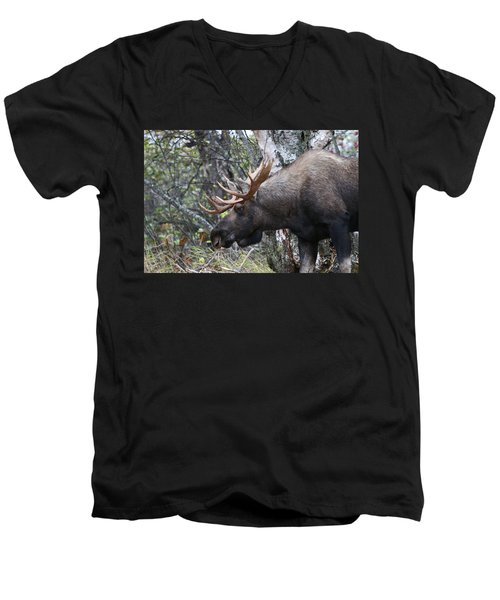Men's V-Neck T-Shirt featuring the photograph Tired Eyes by Doug Lloyd