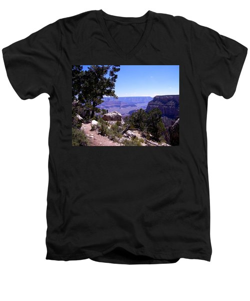 Trail To The Canyon Men's V-Neck T-Shirt