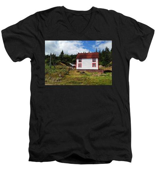 Trinity Road Laundry Men's V-Neck T-Shirt