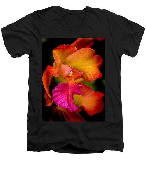 Tropical Splendor Men's V-Neck T-Shirt