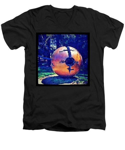 Uc Berkeley Orb - Berkeley Ca Men's V-Neck T-Shirt