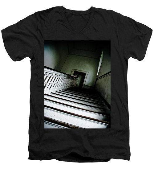 Upstairs Men's V-Neck T-Shirt