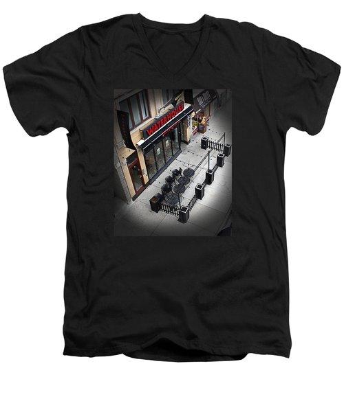 Urban Life Men's V-Neck T-Shirt by Milena Ilieva