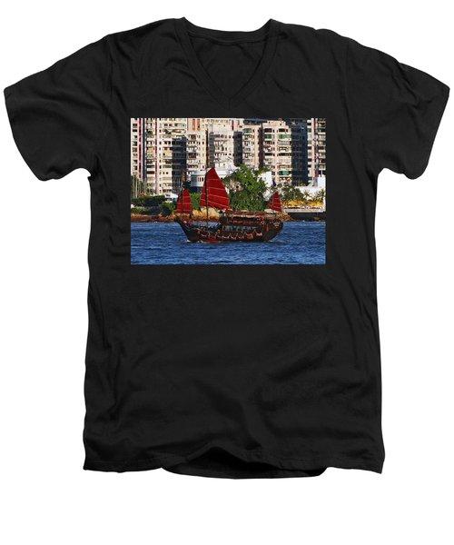 Valiant Host Men's V-Neck T-Shirt