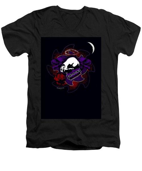 Vampyre  Men's V-Neck T-Shirt by Tony Koehl
