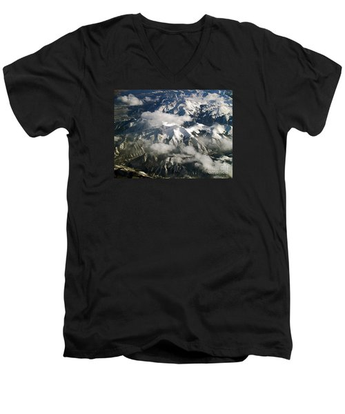 View From Above Men's V-Neck T-Shirt