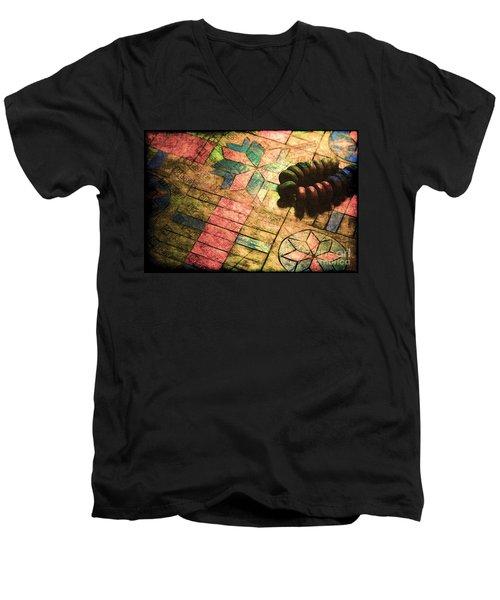 War Games Men's V-Neck T-Shirt by Judi Bagwell