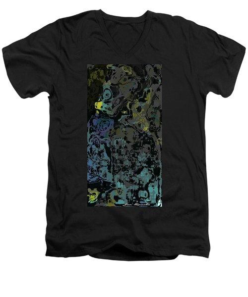 Water Puddles Men's V-Neck T-Shirt