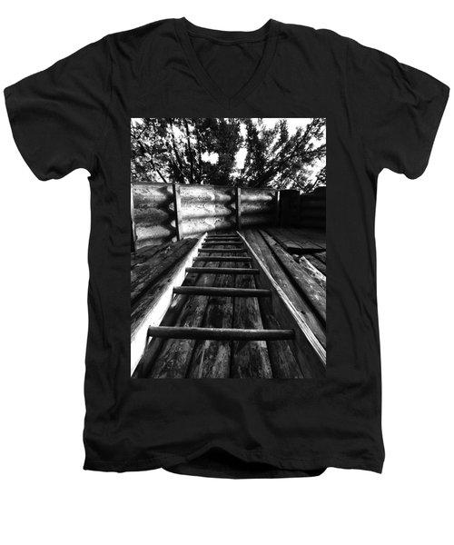 Way Up Men's V-Neck T-Shirt