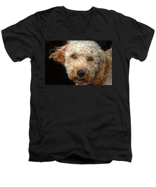 Webster At The Bar Men's V-Neck T-Shirt