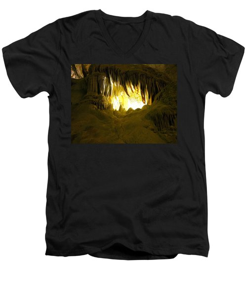 Whales Mouth Men's V-Neck T-Shirt