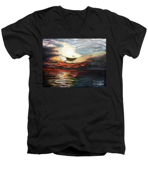 What Dreams May Come.. Men's V-Neck T-Shirt