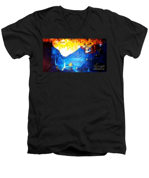 What Dreams May Come  Men's V-Neck T-Shirt