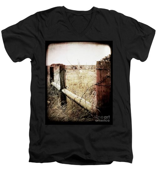 When Time Fades Men's V-Neck T-Shirt