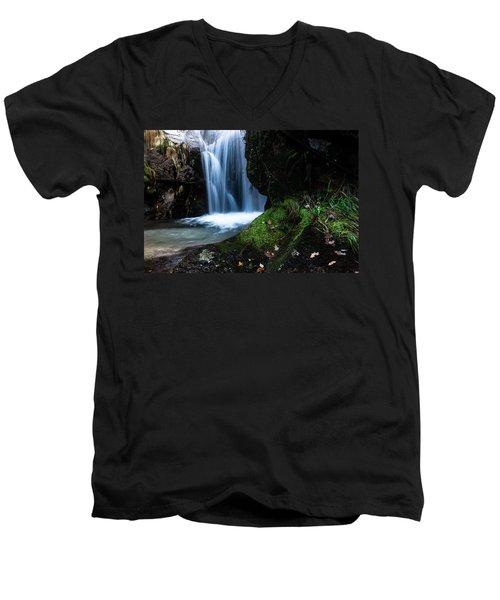 White Dream Men's V-Neck T-Shirt