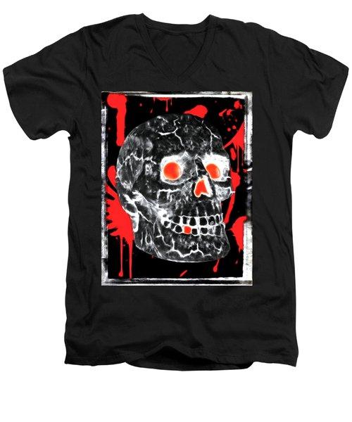 Written In Blood Men's V-Neck T-Shirt