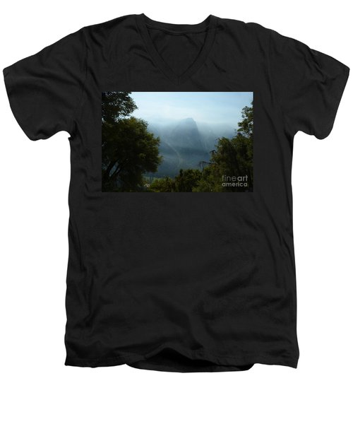 Yosemite Falls Hike Men's V-Neck T-Shirt
