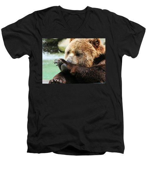 Yummie Men's V-Neck T-Shirt
