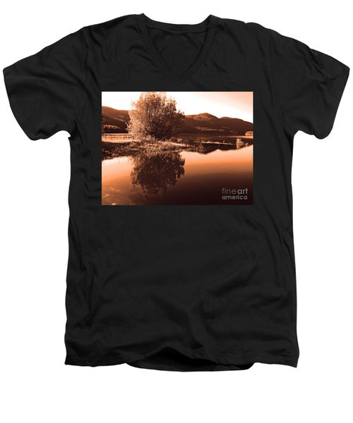 Zen Moment Men's V-Neck T-Shirt