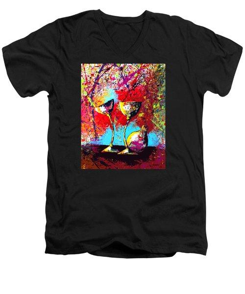 Dripx 86 Men's V-Neck T-Shirt