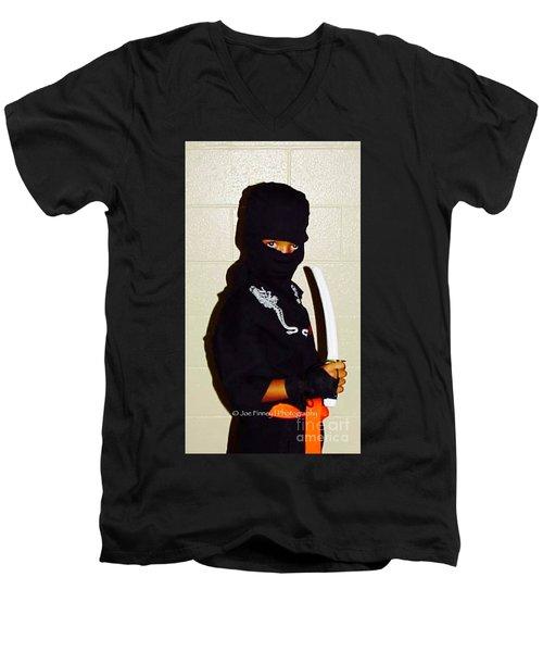 Little Ninja - No.1998 Men's V-Neck T-Shirt