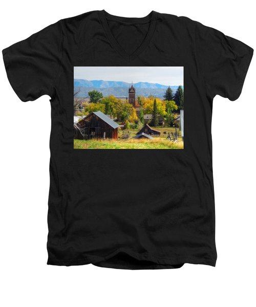 Montpelier Men's V-Neck T-Shirt