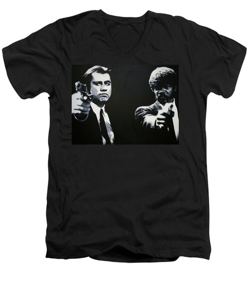- Pulp Fiction - Men's V-Neck T-Shirt
