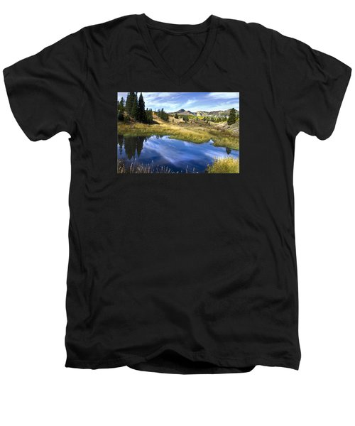 Road To Steamboat Lake Men's V-Neck T-Shirt