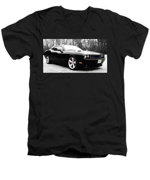 0-60in4 Men's V-Neck T-Shirt