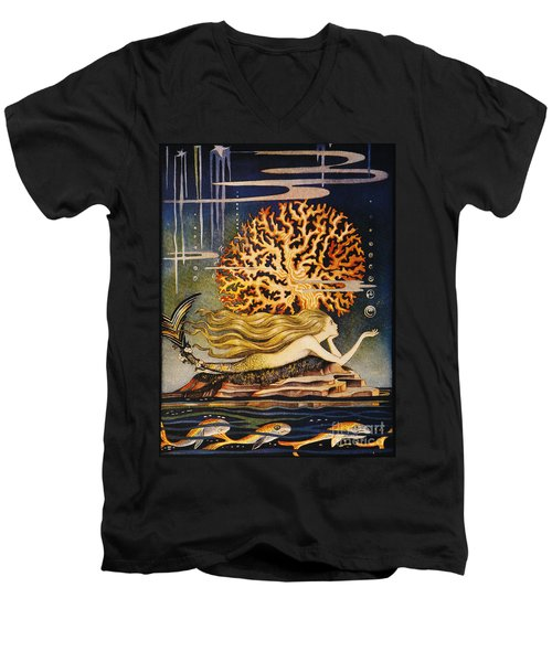 Andersen: Little Mermaid Men's V-Neck T-Shirt