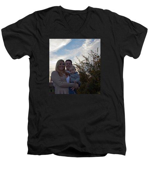 008 Men's V-Neck T-Shirt