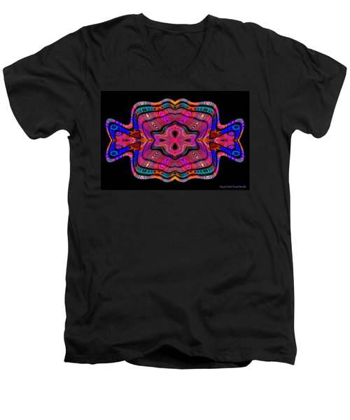 #011120169 Men's V-Neck T-Shirt