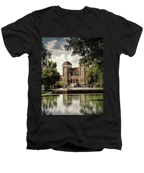 16th Street Baptist Church Men's V-Neck T-Shirt