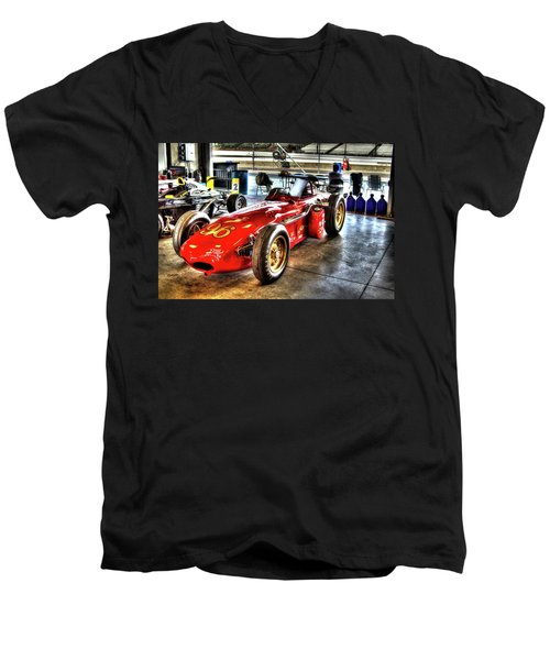 1961 Elder Indy Racing Special Men's V-Neck T-Shirt
