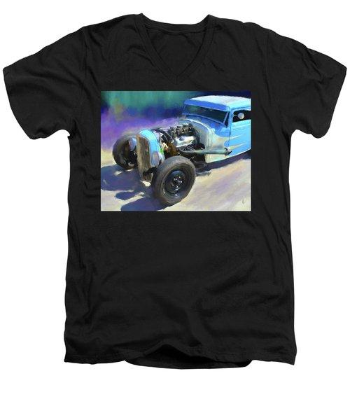 A Rod Men's V-Neck T-Shirt