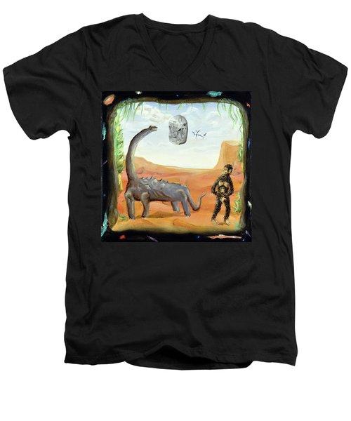 Abiogenesis Men's V-Neck T-Shirt
