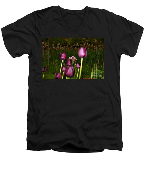 Behind The Scene Men's V-Neck T-Shirt