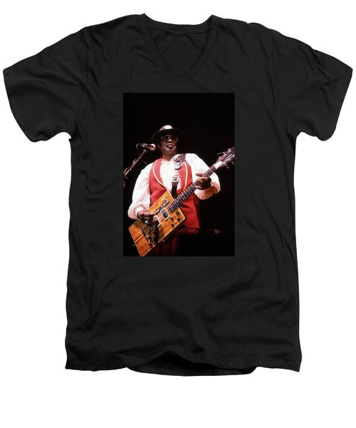 Bo Diddley Men's V-Neck T-Shirt
