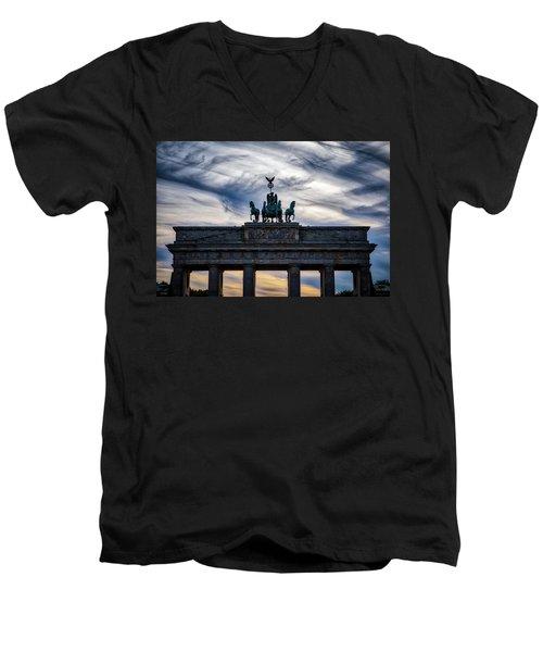 Brandenberg Gate Men's V-Neck T-Shirt
