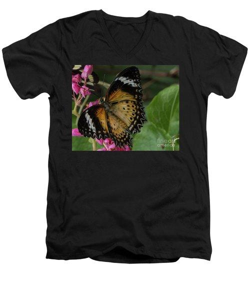 Butterfly 6 Men's V-Neck T-Shirt