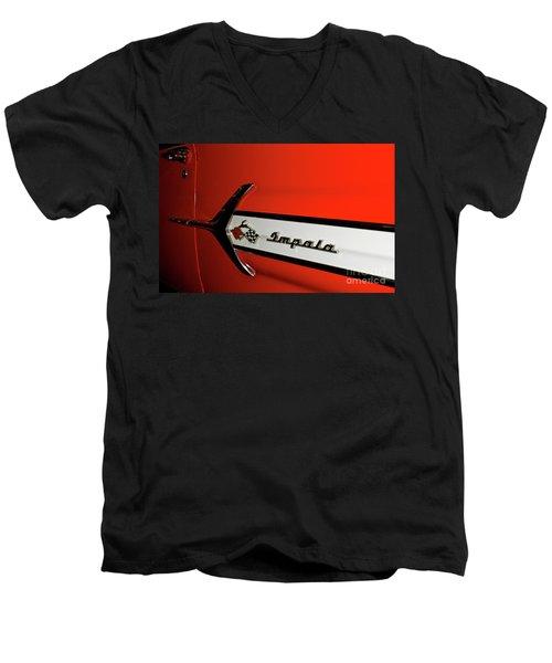 Chevy Impala Men's V-Neck T-Shirt