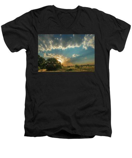 Colorado Sunset Men's V-Neck T-Shirt